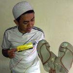 Alhamdulillah,. sandal habib yang ane order udah nyampe,. pelayanan bagus,. (Rahman, Cikarang)